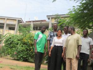 Triple écho d'un voyage au Togo 1