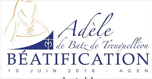 Béatification d'Adèle de Trenquelléon 1